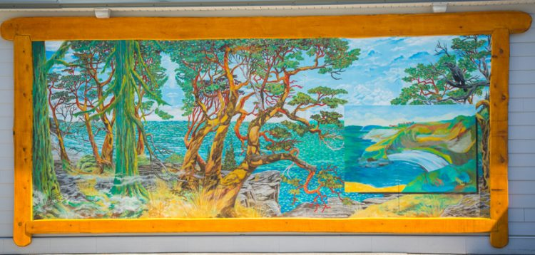 "Mario Labonte's vision of Carr's ""Chemainus Bay"""