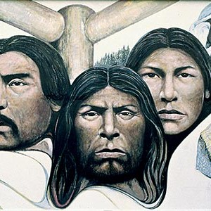 Native Heritage Painted by Paul Ygartua