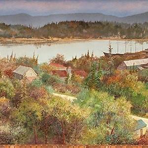 Mural # 21 — Chemainus Harbour 1910