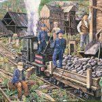 Mural #22 — Lenora Mines at Mt. Sicker