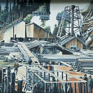 Mural #24 — Second Chemainus Sawmill
