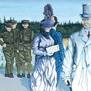 Mural #26 — Chemainus - The War Years - Circa 1915