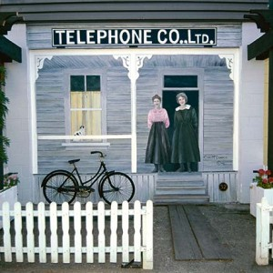 Mural#32 — The Telephone Company - Circa 1915
