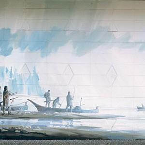 Mural #14 — HMS Forward