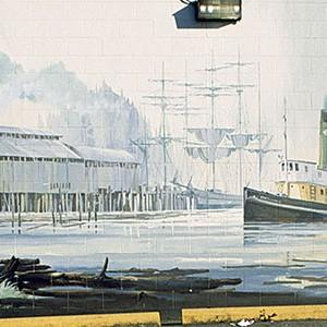 Mural #15 — Chemainus Tug Boat
