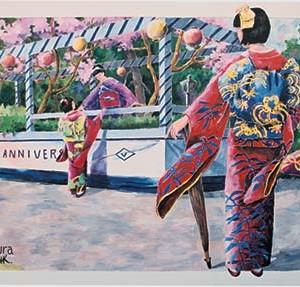 Mural #29 — The Winning Float, Mural