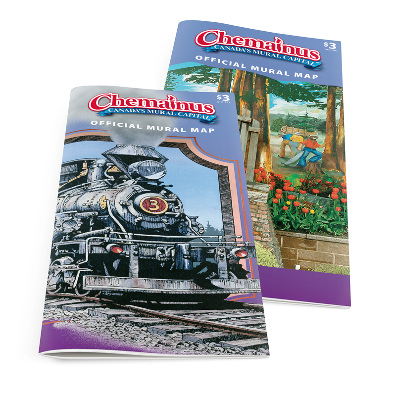 2017 Map Brochures with M35 and M28 covers, laying flat