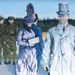 Mural #26 Chemainus-The War Years-Circa 1915 Section 2