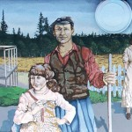 Mural #26 Chemainus-The War Years-Circa 1915