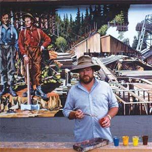 Bruce Rickett, Artist