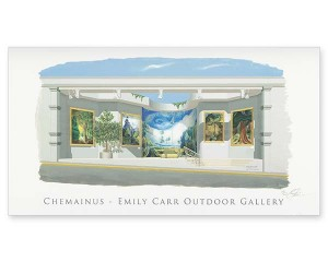 Emily Carr's Beloved Trees - Print