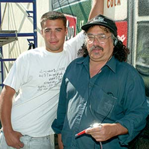 Paul Marcano and son
