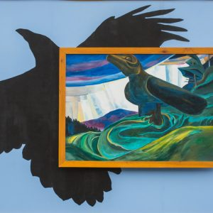 Mural #EC3 — Keeper of Secrets – Inspired by Emily Carr