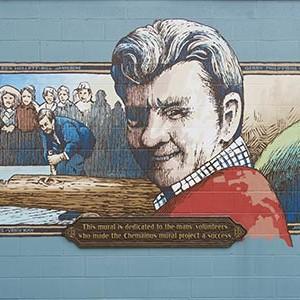 Mural #40 — The Volunteers
