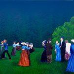 Mural #41- Chemainus Outdoor Gathering -3