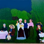 Mural #41- Chemainus Outdoor Gathering -4