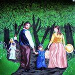 Mural #41- Chemainus Outdoor Gathering -1