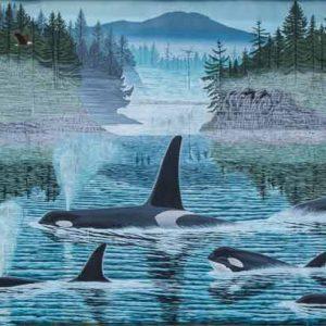 Mural #C1 — Orcas