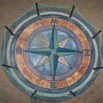 Mural #C3 — Compass