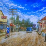 Mural #45 — Chemainus Road - Circa 1945